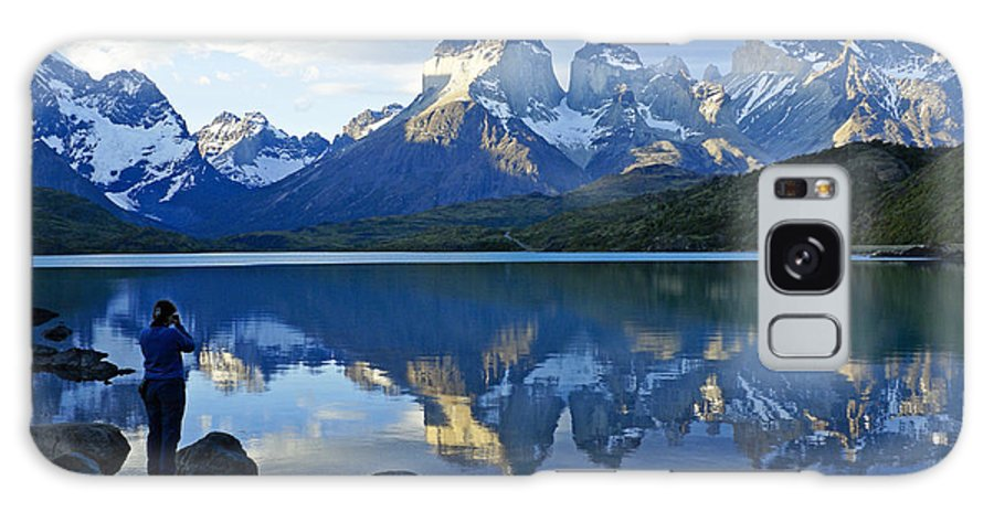 Patagonia Galaxy S8 Case featuring the photograph Patagonia Reflection by Michele Burgess