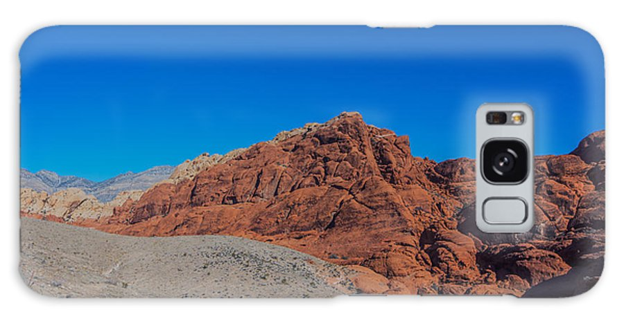 Desert Galaxy S8 Case featuring the photograph Red Rock Canyon by Rockland Filmworks
