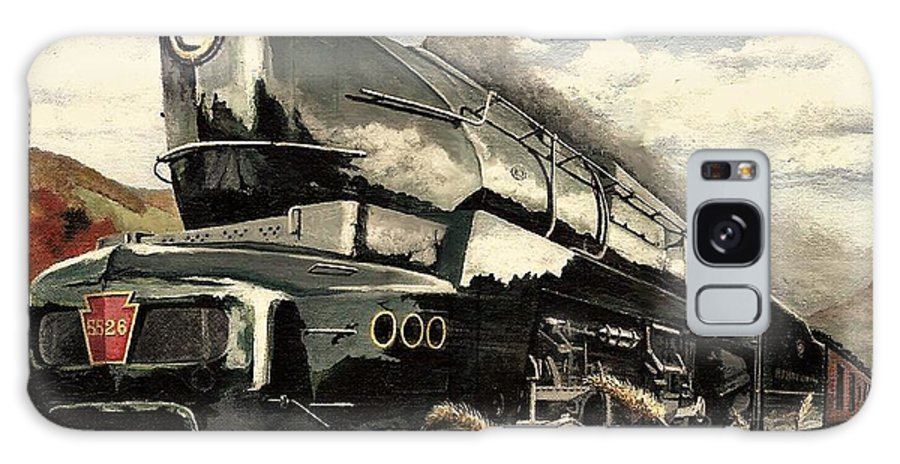 Pennsylvania Railroad Galaxy Case featuring the painting Showin Off by David Mittner