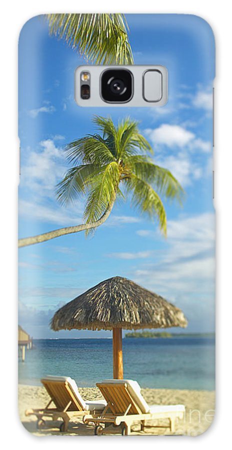 Beach Galaxy S8 Case featuring the photograph Tahiti, Bora Bora by Kyle Rothenborg - Printscapes