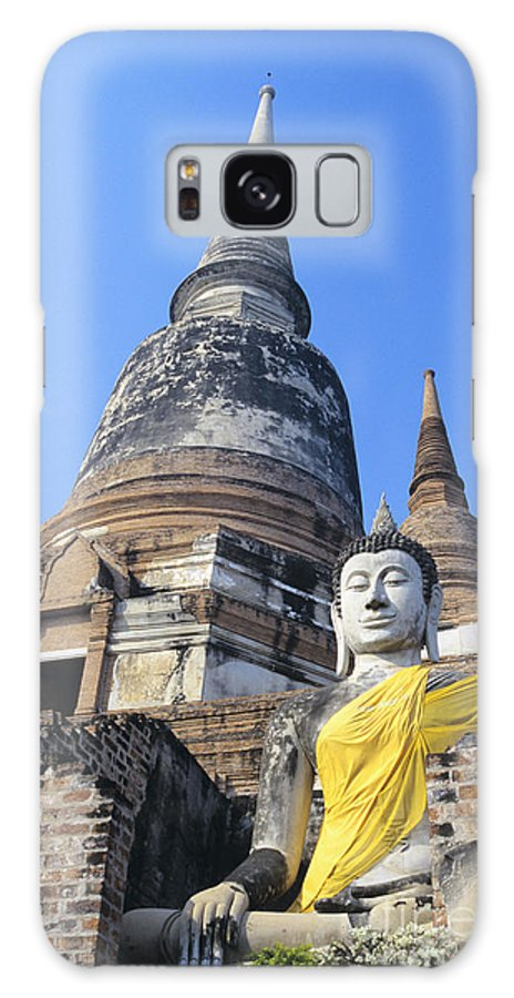 Ancient Galaxy S8 Case featuring the photograph Thailand, Ayathaya by Gloria & Richard Maschmeyer - Printscapes