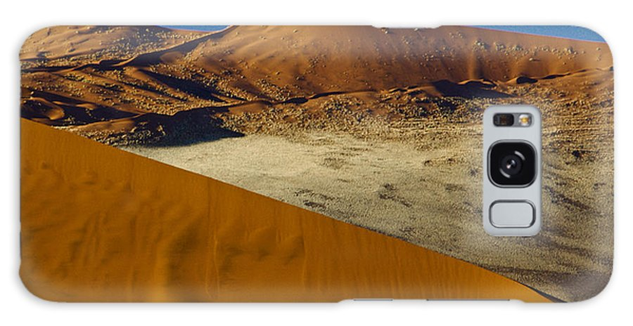 Africa Galaxy S8 Case featuring the photograph The Dunes Of Sossusvlei by Michele Burgess