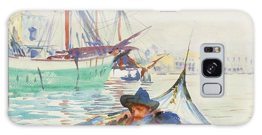 John Singer Sargent 1856 - 1925 The Giudecca (a Summer Day On The Giudecca Galaxy S8 Case featuring the painting The Giudecca by John Singer