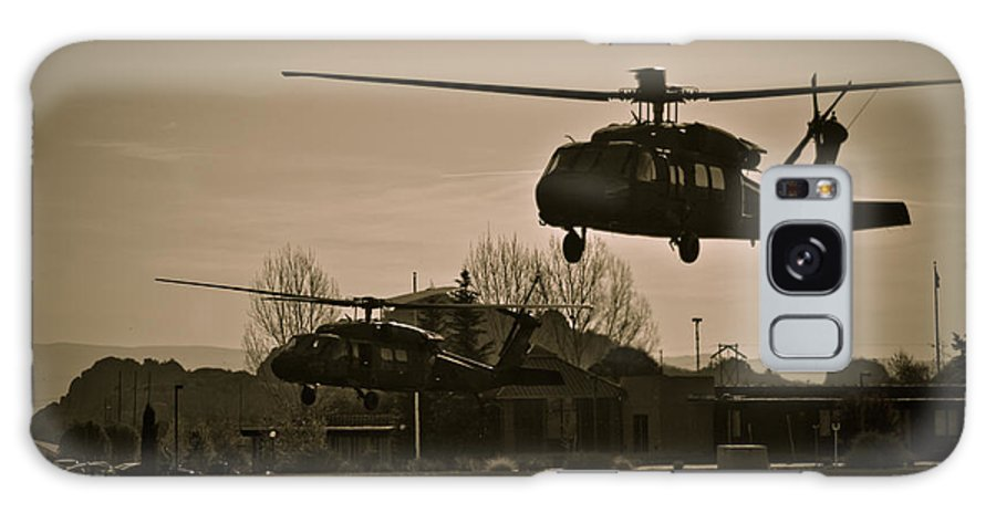 Us Army Galaxy S8 Case featuring the photograph Us Army Blackhawks by Brenton Woodruff