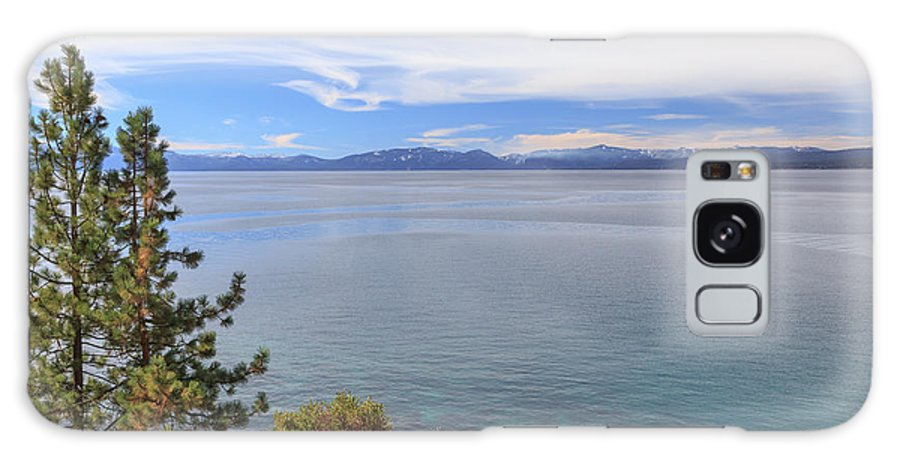 2014 Galaxy S8 Case featuring the photograph View Across Lake Tahoe by Jannis Werner