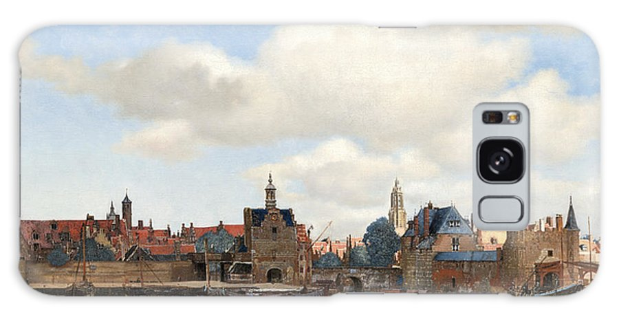 View Of Delft Galaxy S8 Case featuring the painting View Of Delft by Johannes Vermeer