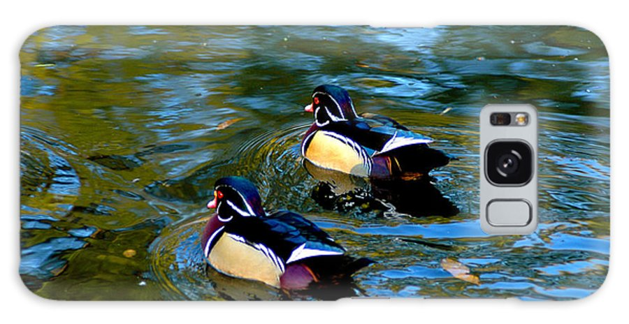 Clay Galaxy Case featuring the photograph Wood Duck by Clayton Bruster