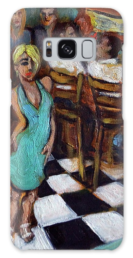 Restaurant Galaxy Case featuring the painting 32 East by Valerie Vescovi