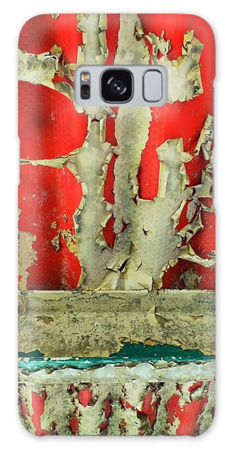 Abstract Galaxy S8 Case featuring the photograph 377 At 41 Series 3 by Skip Hunt