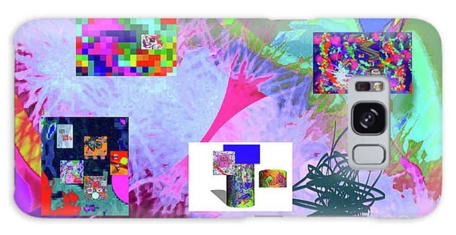 Walter Paul Bebirian Galaxy S8 Case featuring the digital art 4-18-2015babcdefghijklmnopqrtuvwxyzabcdefgh by Walter Paul Bebirian