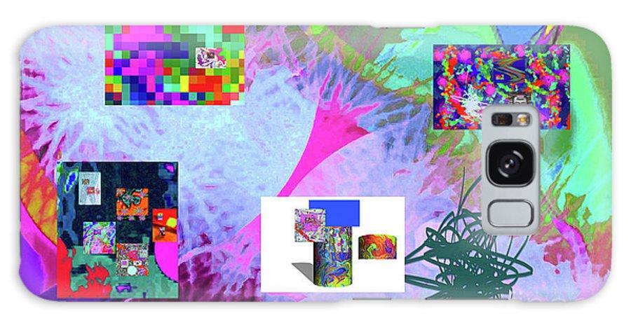 Walter Paul Bebirian Galaxy S8 Case featuring the digital art 4-18-2015babcdefghijklmnopqrtuvwxyzabcdefghi by Walter Paul Bebirian