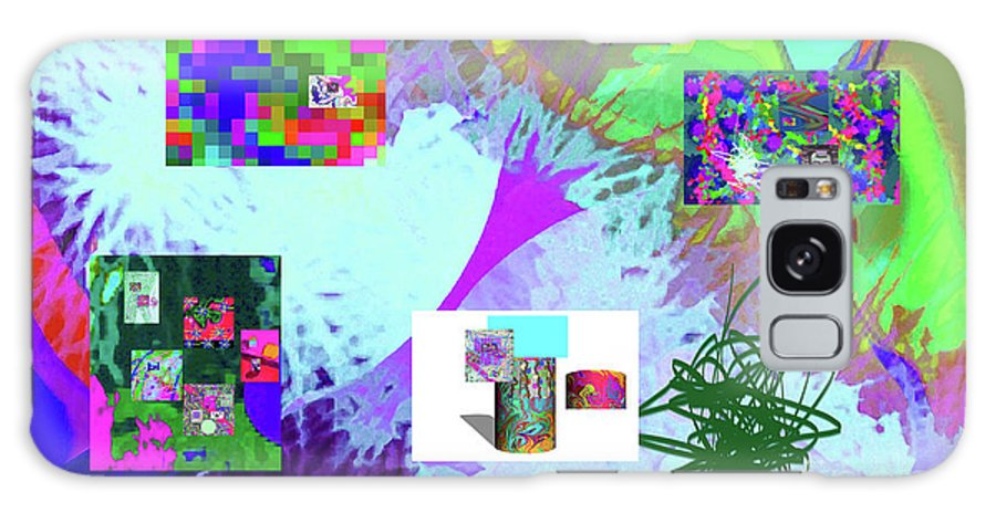 Walter Paul Bebirian Galaxy S8 Case featuring the digital art 4-18-2015babcdefghijklmnopqrtuvwxyzabcdefghijklm by Walter Paul Bebirian