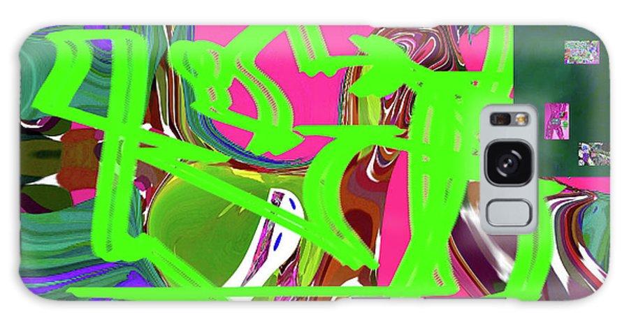 Walter Paul Bebirian Galaxy S8 Case featuring the digital art 4-19-2015babcde by Walter Paul Bebirian