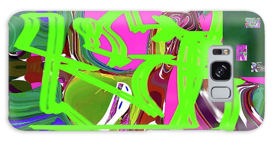 Walter Paul Bebirian Galaxy S8 Case featuring the digital art 4-19-2015babcdef by Walter Paul Bebirian