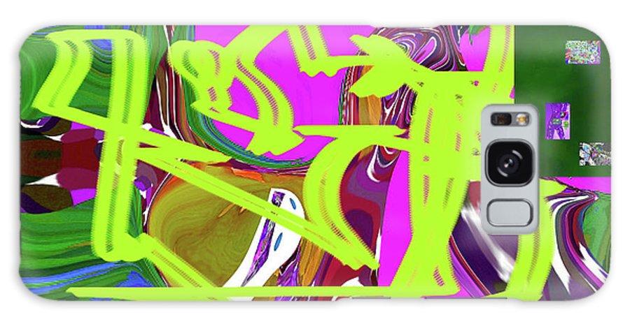 Walter Paul Bebirian Galaxy S8 Case featuring the digital art 4-19-2015babcdefghi by Walter Paul Bebirian