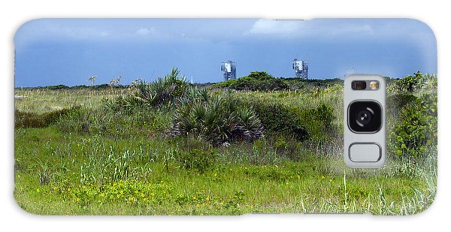 Florida; Beach; Ocean; Waves; Wave; Surf; Sand; Sandy; Coast; Shore; Atlantic; Cape; Canaveral; Scen Galaxy S8 Case featuring the photograph Cape Canaveral Florida by Allan Hughes