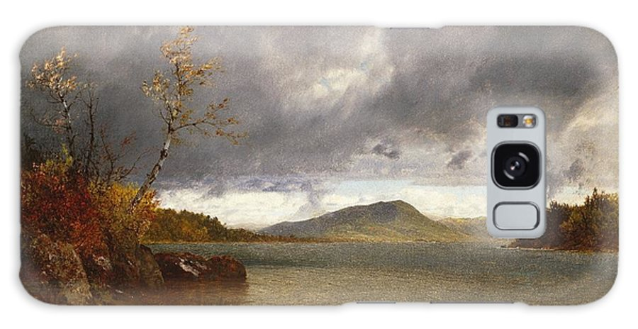 John Frederick Kensett (american Galaxy S8 Case featuring the painting Lake George by John Frederick