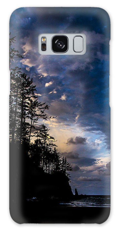 Galaxy S8 Case featuring the photograph My Private Beach by Angus Hooper Iii