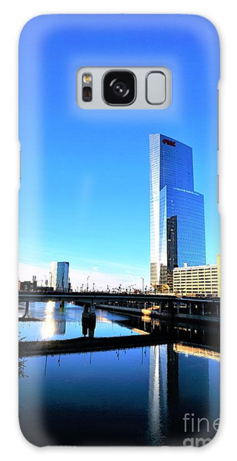 Philadelphia Galaxy S8 Case featuring the photograph Philly Over The Schuylkill by Merle Grenz