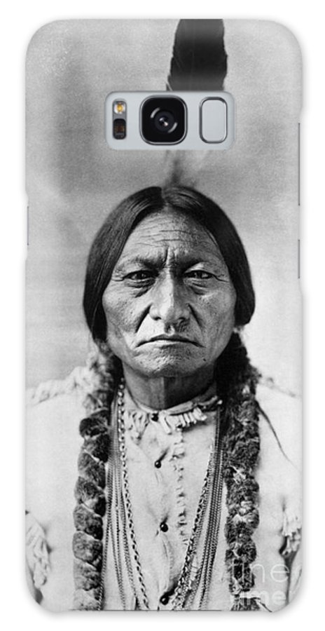 19th Century Galaxy Case featuring the photograph Sitting Bull 1834-1890 by Granger