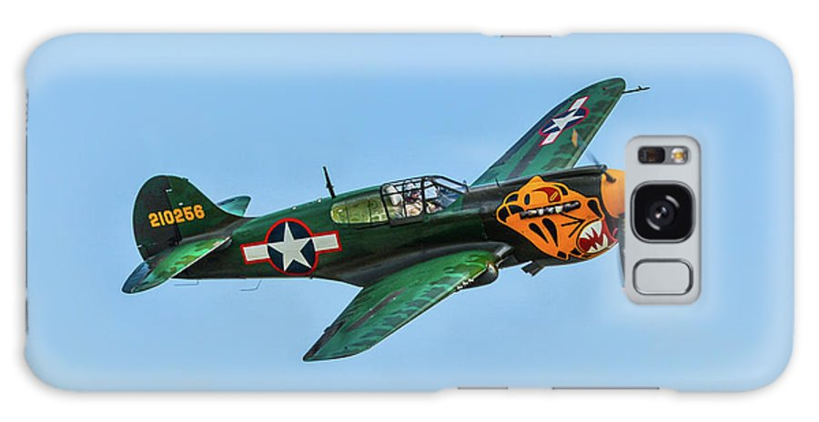 Curtis P-40 Warhawk Galaxy S8 Case featuring the photograph Warhawk by Tommy Anderson