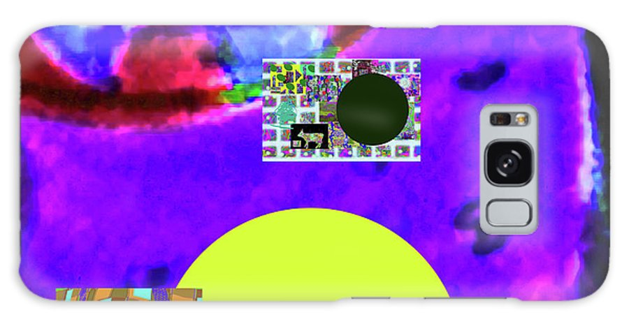 Walter Paul Bebirian Galaxy S8 Case featuring the digital art 5-24-2015cabcdefghi by Walter Paul Bebirian