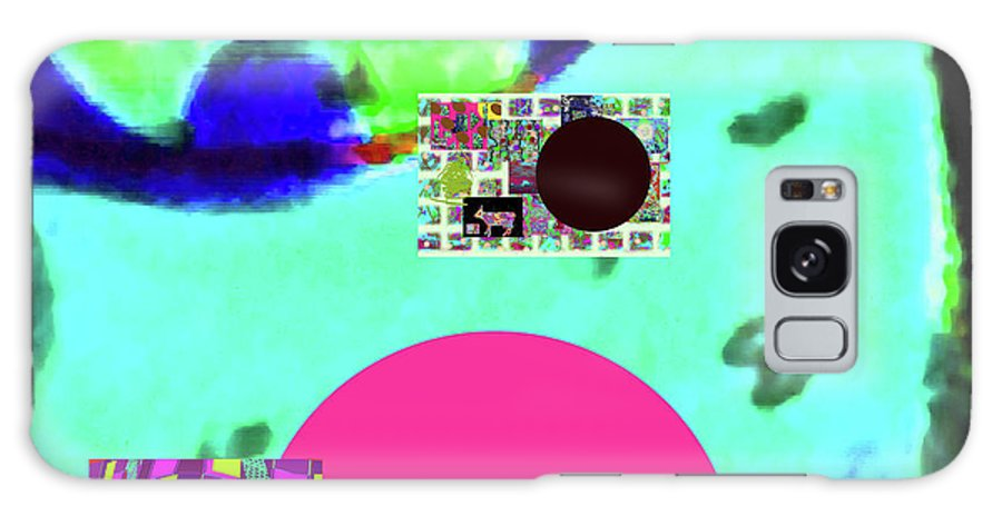Walter Paul Bebirian Galaxy S8 Case featuring the digital art 5-24-2015cabcdefghijklmnopqrt by Walter Paul Bebirian