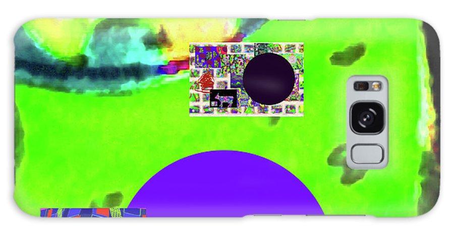 Walter Paul Bebirian Galaxy S8 Case featuring the digital art 5-24-2015cabcdefghijklmnopqrtuvwxyza by Walter Paul Bebirian