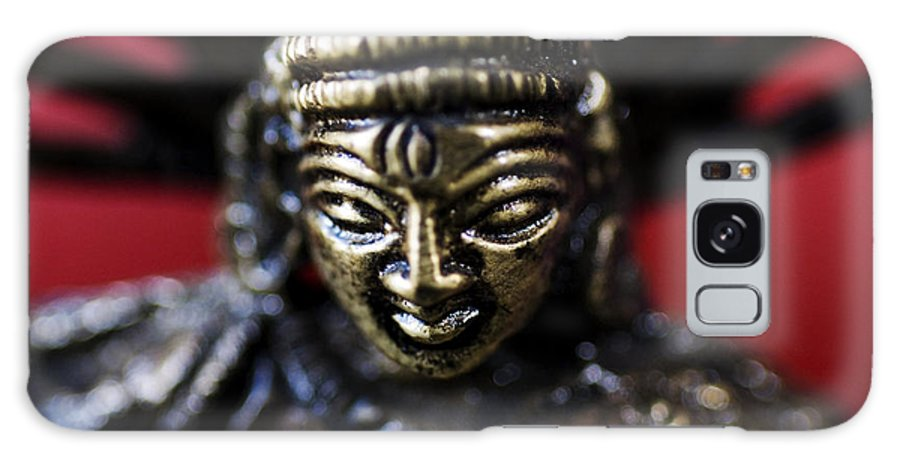 Adorn Galaxy S8 Case featuring the photograph Buddha Sculpture by Ray Laskowitz - Printscapes