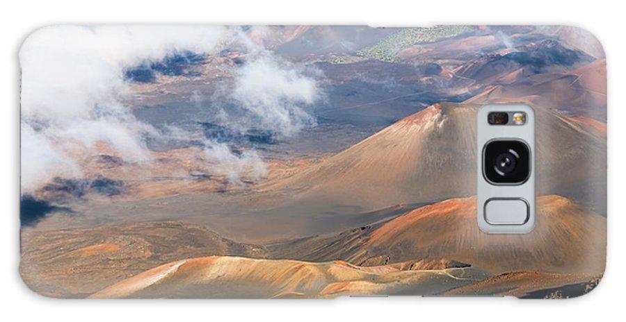 Haleakala Galaxy S8 Case featuring the photograph Haleakala Crater by Mariusz Blach