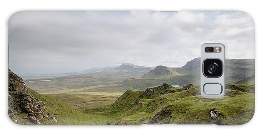 Quiraing Scotland Galaxy S8 Case featuring the photograph The Quiraing by Smart Aviation