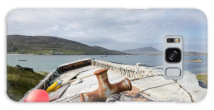 Vatersay Scotland Galaxy S8 Case featuring the photograph Vatersay by Smart Aviation