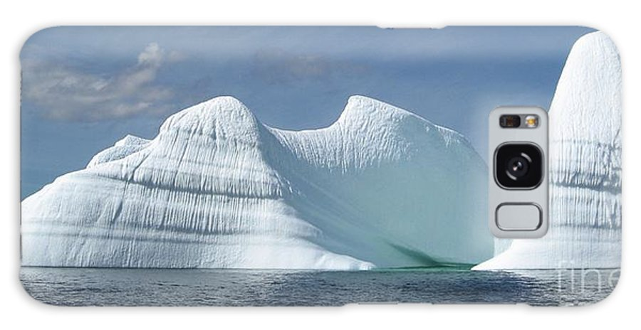 Iceberg Photograph Ice Water Ocean Sea Atlantic Summer Newfoundland Galaxy S8 Case featuring the photograph Iceberg by Seon-Jeong Kim
