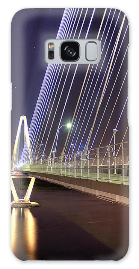 Arthur Galaxy S8 Case featuring the photograph Arthur Ravenel Jr. Bridge by Dustin K Ryan