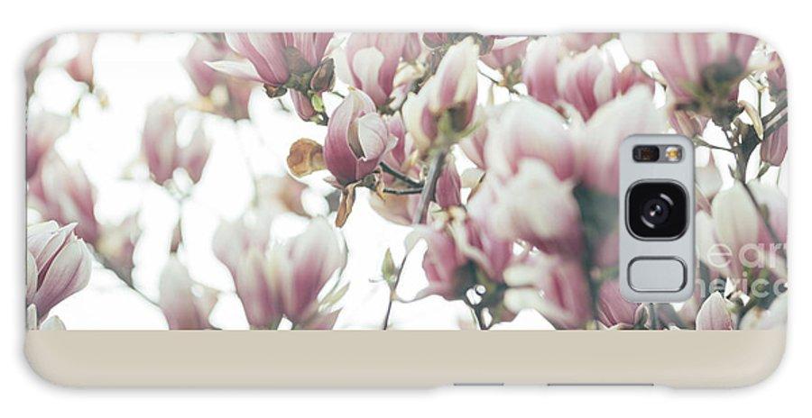 Magnolia Galaxy S8 Case featuring the pyrography Magnolia by Jelena Jovanovic