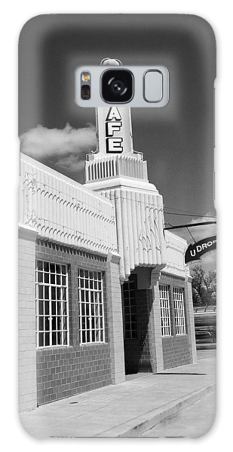 66 Galaxy S8 Case featuring the photograph Route 66 - Conoco Tower Station by Frank Romeo