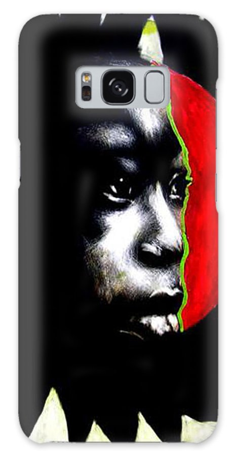 Galaxy S8 Case featuring the mixed media 70 Sunshine by Chester Elmore