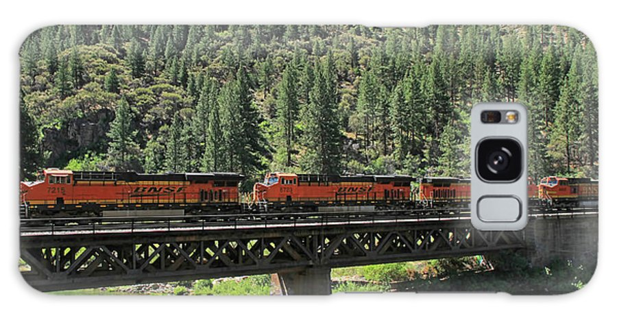 Bnsf Galaxy S8 Case featuring the photograph 7215 by Donna Kennedy