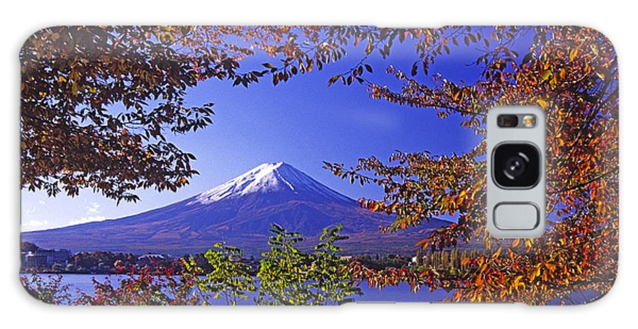 Japan Galaxy S8 Case featuring the photograph Mount Fuji In Autumn by Michele Burgess
