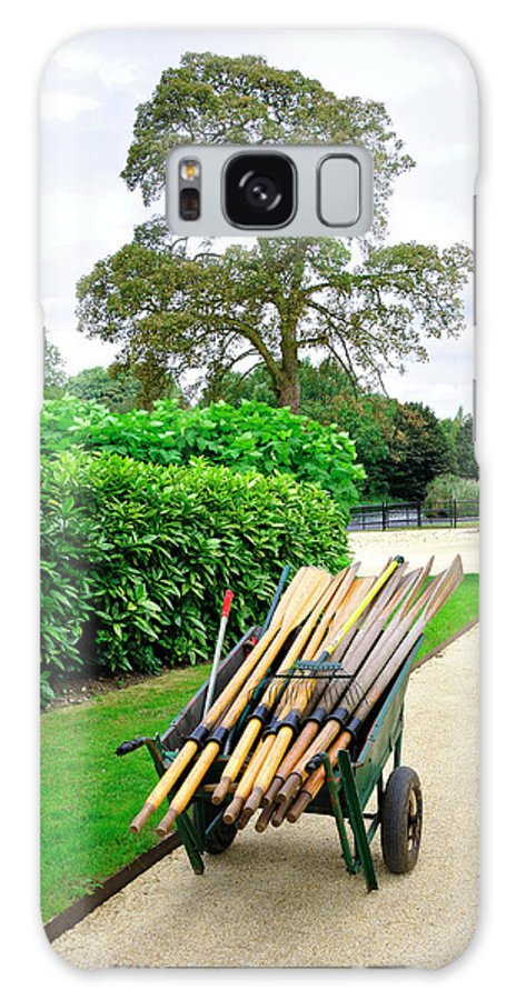 Laurel Galaxy S8 Case featuring the photograph A Barrow Load Of Oars by Rod Johnson