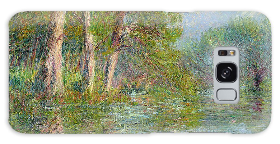 Bend Galaxy S8 Case featuring the painting A Bend In The Eure by Gustave Loiseau