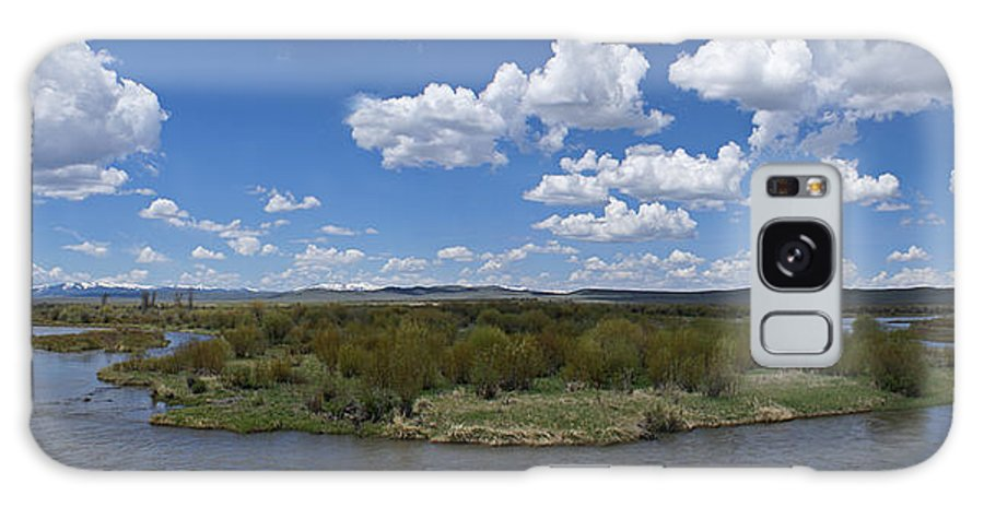 River Galaxy Case featuring the photograph A Bend In The River by Heather Coen