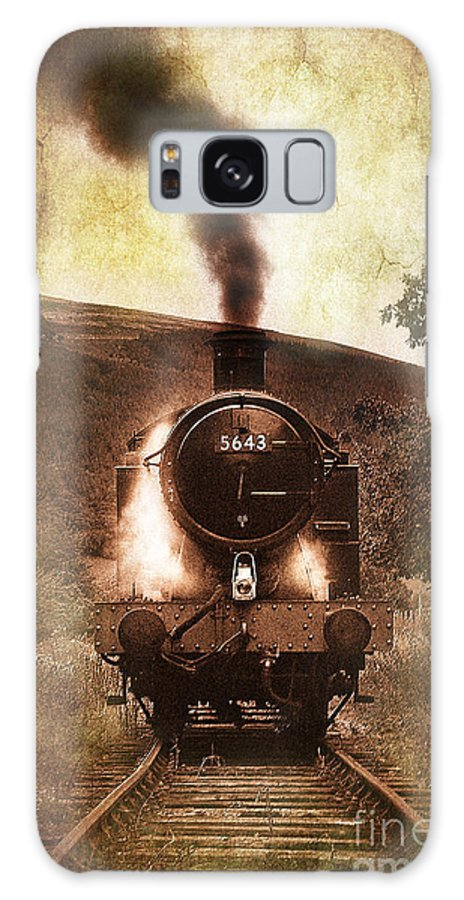 Train Galaxy S8 Case featuring the photograph A Bygone Era by Meirion Matthias