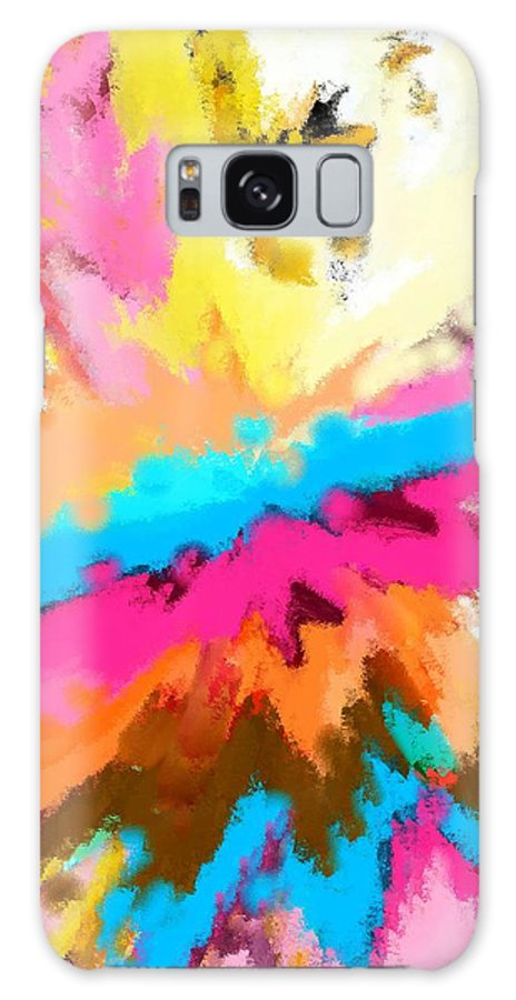 Abstract Galaxy Case featuring the digital art A Childs Dream by Florene Welebny