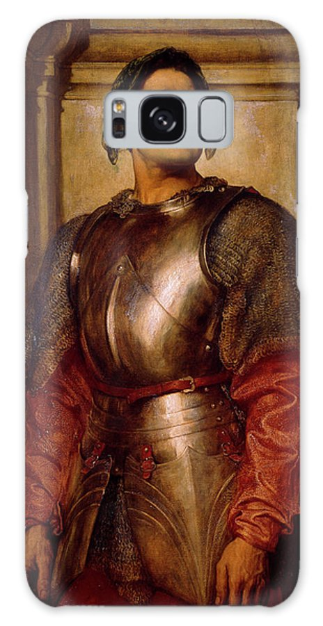 Condottieri Galaxy Case featuring the painting A Condottiere by Frederic Leighton