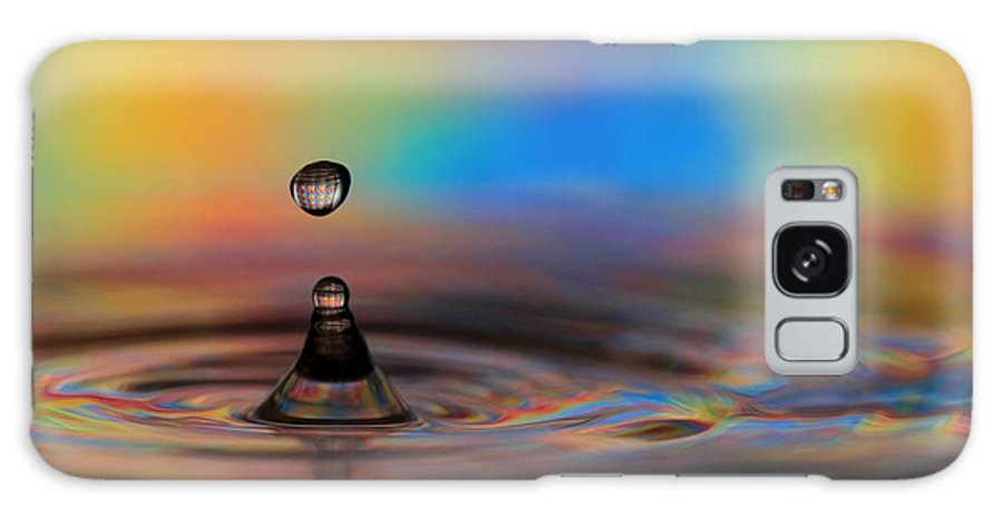 Drop Galaxy S8 Case featuring the photograph A Drop by Sabrina L Ryan