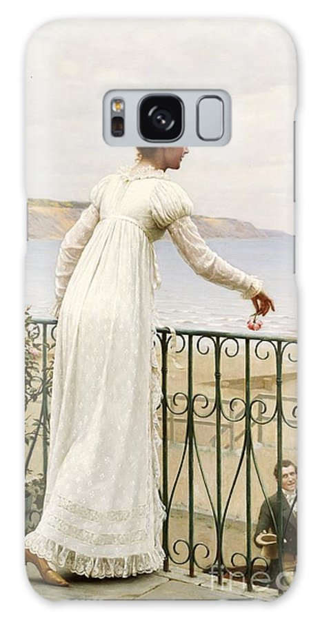 A Favour Galaxy S8 Case featuring the painting A Favour by Edmund Blair Leighton