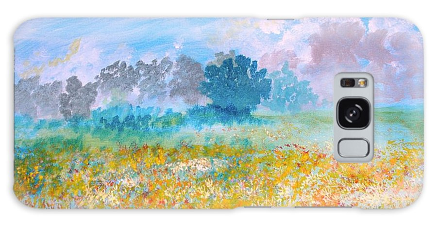 New Artist Galaxy S8 Case featuring the painting A Golden Afternoon by J Bauer