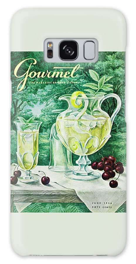 Food Galaxy Case featuring the photograph A Gourmet Cover Of Glassware by Hilary Knight
