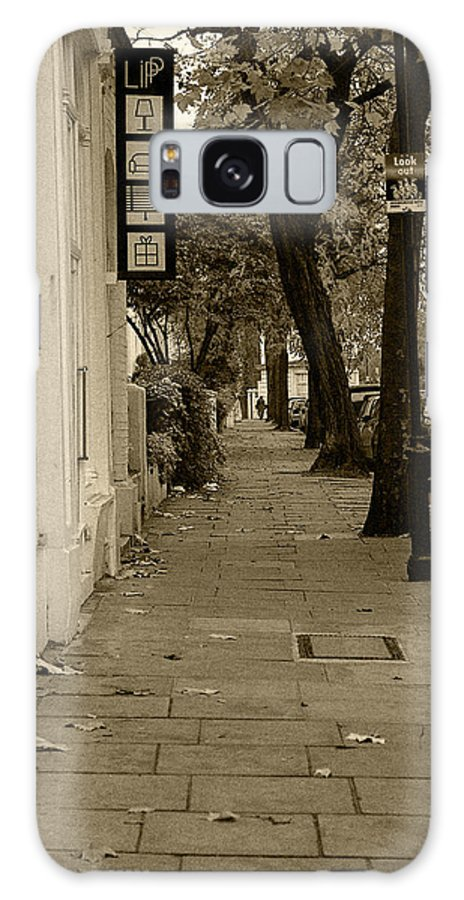 London Galaxy Case featuring the photograph A London Street I by Ayesha Lakes